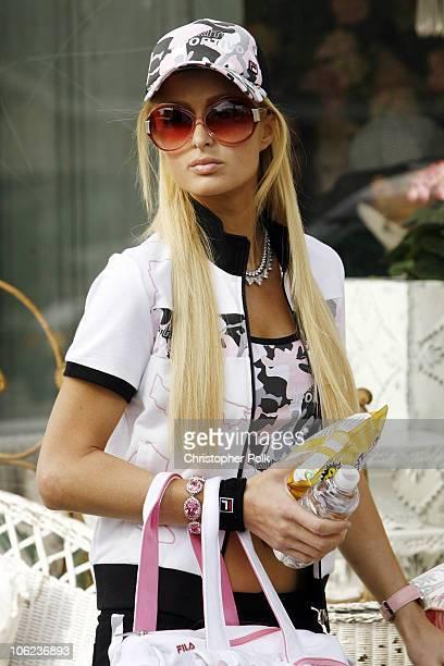 Paris Hilton Photo Shoot For FILA during Paris Hilton Behind the Scenes for FILA Photo Shoot January 28 2007 in Venice California United States