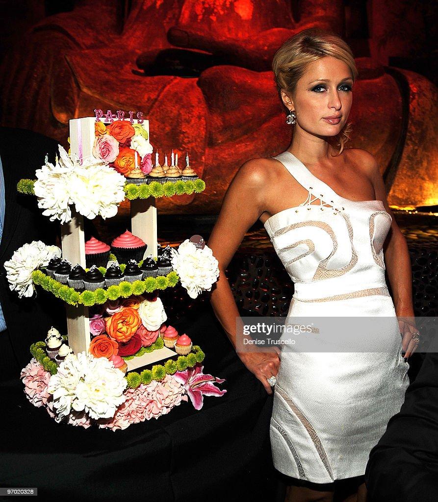 Tao Nightclub Celebrates Paris Hilton's Birthday : News Photo