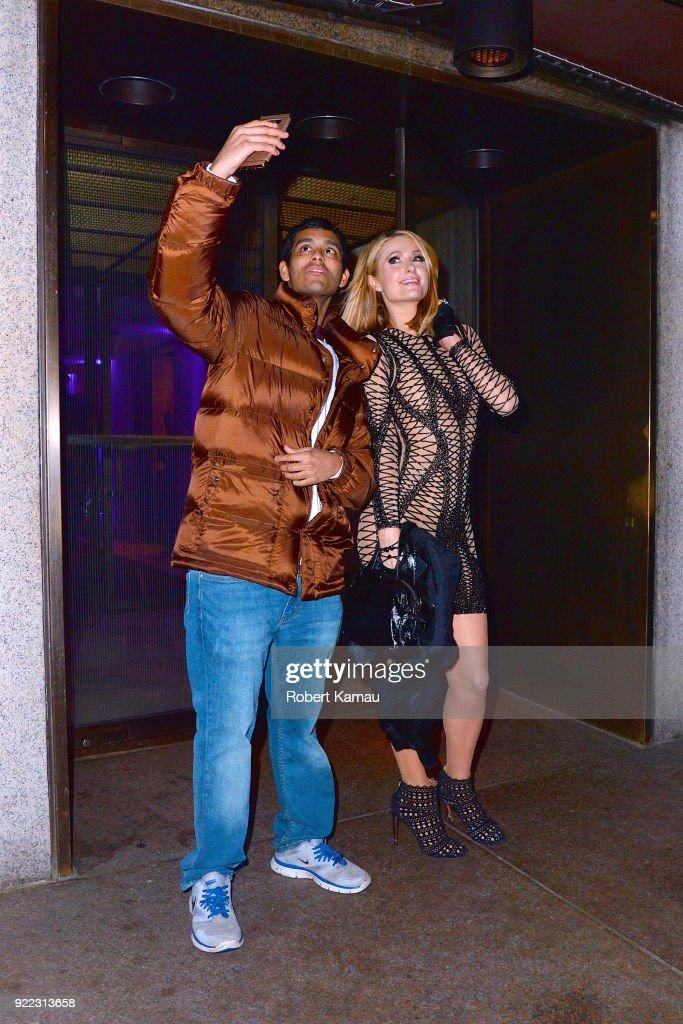 Celebrity Sightings in New York City - February 20, 2018 : News Photo