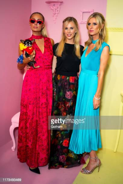 Paris Hilton Tessa Hilton and Nicky Hilton attend the Alice Olivia by Stacey Bendet presentation during New York Fashion Week The Shows at Root...