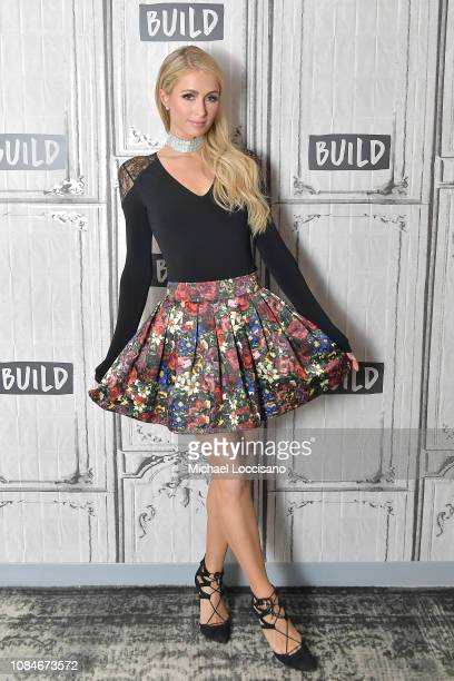 Paris Hilton visits Build to discuss the documentary The American Meme at Build Studio on December 19 2018 in New York City