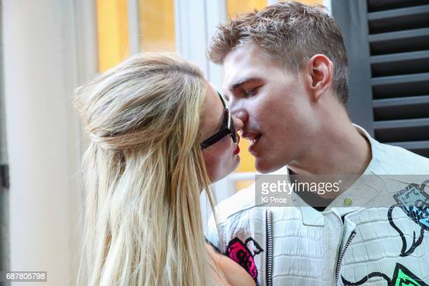 Paris Hilton with boyfriend Chris Zylka attend the Philipp Plein Cruise Show 2018 during the 70th annual Cannes Film Festival at on May 24 2017 in...