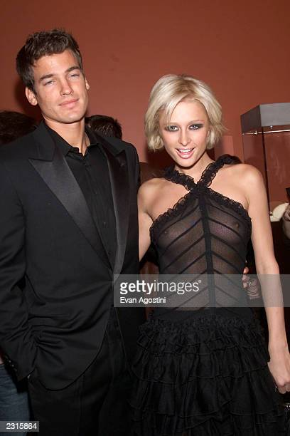 Paris Hilton with boyfriend Jason Shaw at the Cartier boutique opening in Soho New York City Photo Evan Agostini/ImageDirect