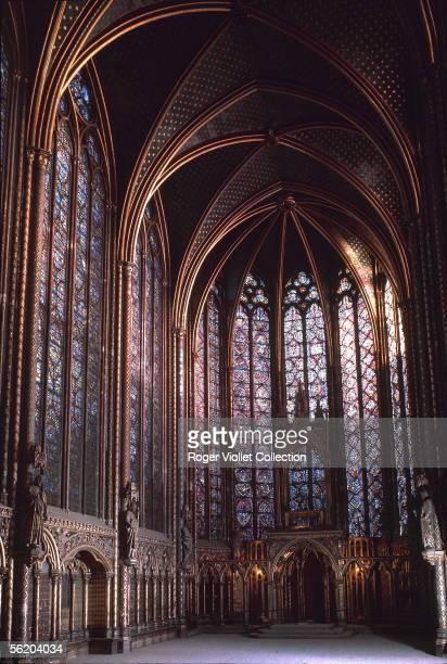 Paris Ist district The high chapel of the SainteChapelle