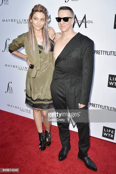 Paris Jackson and Jeremy Scott attend The Daily Front Row's 4th Annual Fashion Los Angeles Awards - Arrivals at The Beverly Hills Hotel on April 8,...