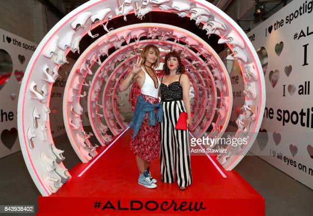 Paris Jackson and Piera Gelardi attend the Refinery29 Third Annual 29Rooms Turn It Into Art event on September 7 2017 in the Brooklyn borough of New...
