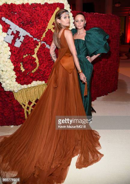 3b72c9d57b1 Paris Jackson and Stella McCartney attend the Heavenly Bodies Fashion The Catholic  Imagination Costume Institute Gala