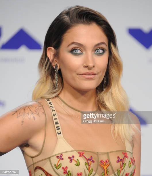 Paris Jackson arrives at the 2017 MTV Video Music Awards at The Forum on August 27 2017 in Inglewood California