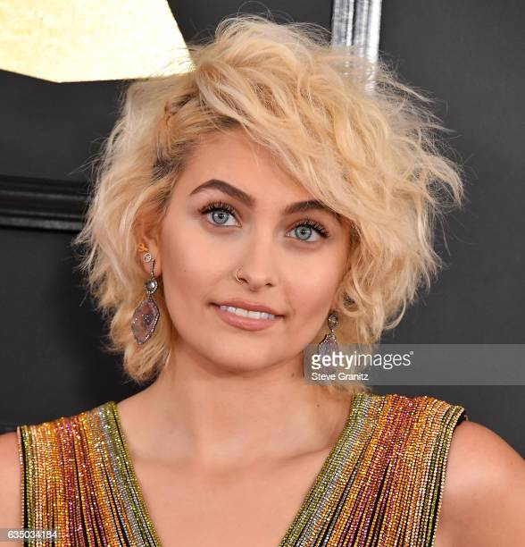 Paris Jackson arrives at the 59th GRAMMY Awards on February 12 2017 in Los Angeles California