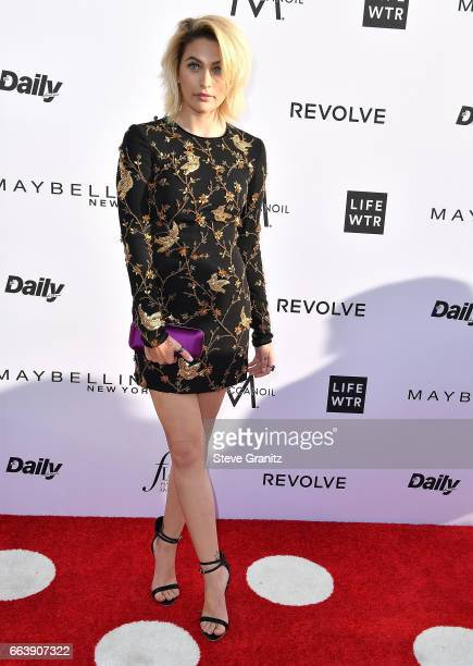 Paris Jackson arrives at the Daily Front Row's 3rd Annual Fashion Los Angeles Awards on April 2 2017 in West Hollywood California