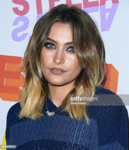 Paris Jackson arrives at the Stella McCartney's Autumn 2018 Collection Launch on January 16 2018 in Los Angeles California