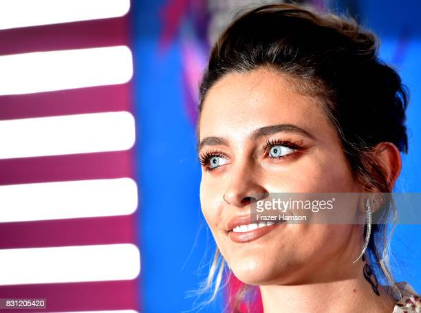 Paris Jackson arrives at the Teen Choice Awards 2017 at Galen Center on August 13 2017 in Los Angeles California