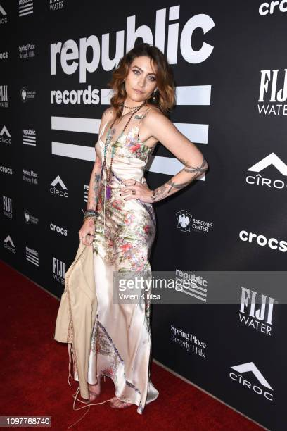 Paris Jackson at Republic Records Grammy after party at Spring Place Beverly Hills on February 10 2019 in Beverly Hills California