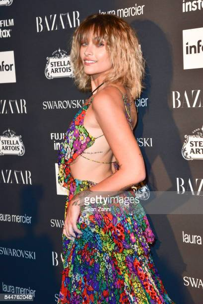 Paris Jackson attends 2017 Harper's Bazaar Icons at The Plaza Hotel on September 8 2017 in New York City