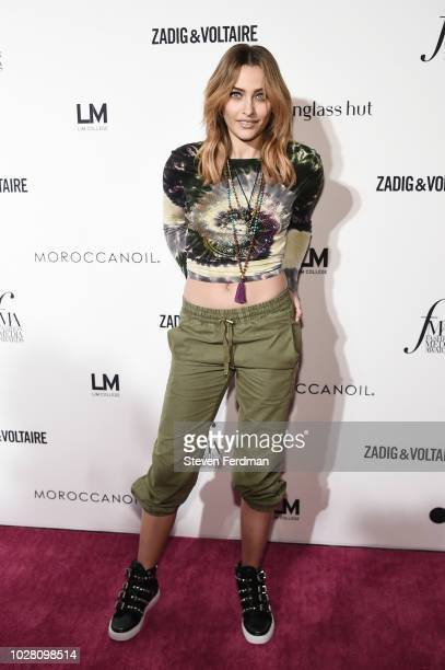Paris Jackson attends Daily Front Row's Fashion Media Awards presented by ZadigVoltaire Sunglass Hut Moroccan Oil LIM Fiji on September 6 2018 in New...