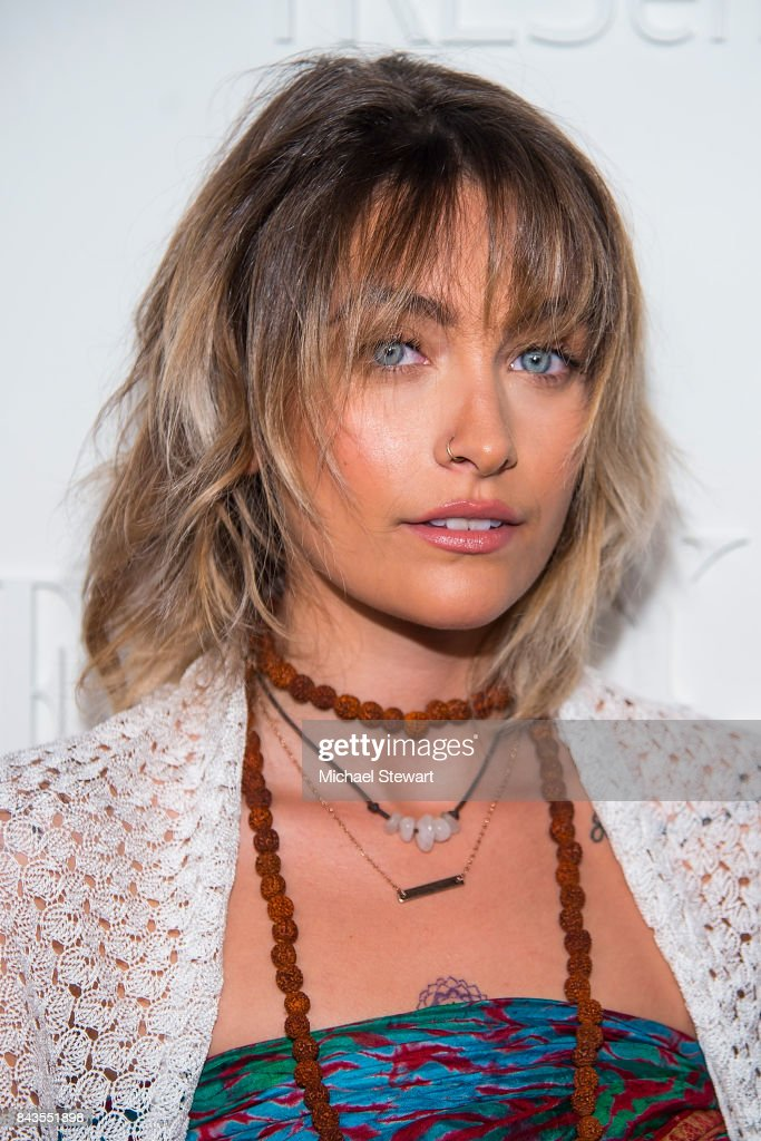 Paris Jackson attends ELLE, E! & IMG host A Celebration of Personal Style NYFW Kickoff Party on September 6, 2017 in New York City.