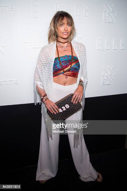 Paris Jackson attends ELLE E IMG host A Celebration of Personal Style NYFW Kickoff Party on September 6 2017 in New York City