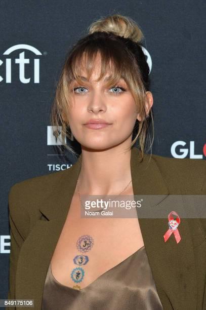 Paris Jackson attends Global Citizen Live at NYU Skirball Center on September 18 2017 in New York City