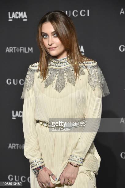 Paris Jackson attends LACMA Art Film Gala 2018 at Los Angeles County Museum of Art on November 3 2018 in Los Angeles CA