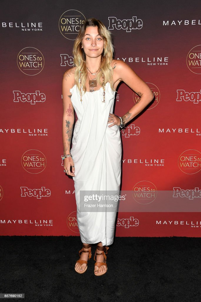 Paris Jackson attends People's 'Ones To Watch' at NeueHouse Hollywood on October 4, 2017 in Los Angeles, California.
