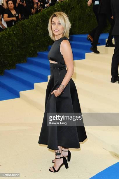 Paris Jackson attends 'Rei Kawakubo/Comme des Garcons Art Of The InBetween' Costume Institute Gala at Metropolitan Museum of Art on May 1 2017 in New...