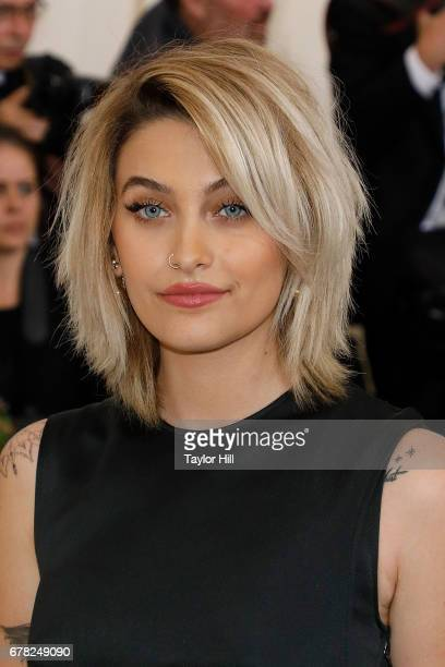 Paris Jackson attends 'Rei Kawakubo/Commes Des Garcons Art of the InBetween' the 2017 Costume Institute Benefit at Metropolitan Museum of Art on May...