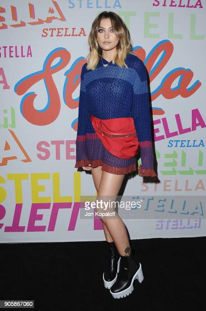Paris Jackson attends Stella McCartney's Autumn 2018 Collection Launch on January 16 2018 in Los Angeles California