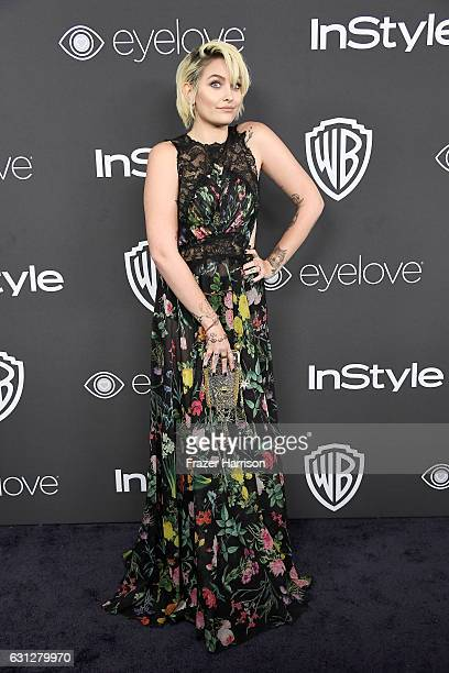 Paris Jackson attends the 18th Annual PostGolden Globes Party hosted by Warner Bros Pictures and InStyle at The Beverly Hilton Hotel on January 8...