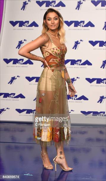 Paris Jackson attends the 2017 MTV Video Music Awards at The Forum on August 27 2017 in Inglewood California
