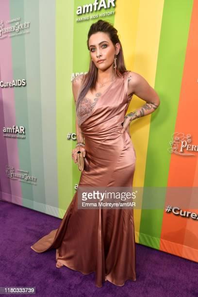 Paris Jackson attends the 2019 amfAR Gala Los Angeles at Milk Studios on October 10 2019 in Los Angeles California