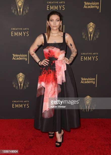 Paris Jackson attends the 2021 Creative Arts Emmys at Microsoft Theater on September 11, 2021 in Los Angeles, California.