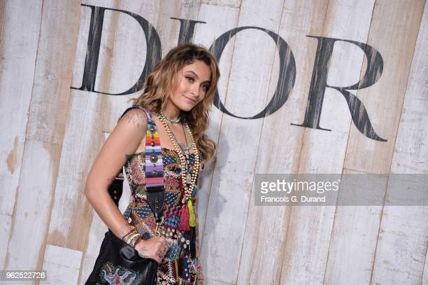 Paris Jackson attends the Christian Dior Couture S/S19 Cruise Collection Photocall At Grandes Ecuries De Chantillyon May 25 2018 in Chantilly France