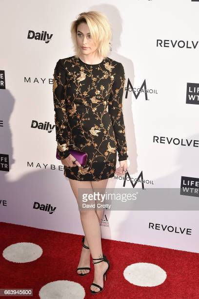 Paris Jackson attends the Daily Front Row's 3rd Annual Fashion Los Angeles Awards Arrivals at Sunset Tower Hotel on April 2 2017 in West Hollywood...