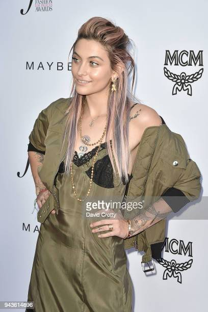 Paris Jackson attends The Daily Front Row's 4th Annual Fashion Los Angeles Awards - Arrivals at The Beverly Hills Hotel on April 8, 2018 in Beverly...