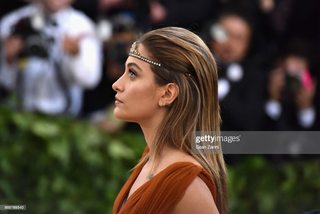 Paris Jackson attends the Heavenly Bodies: Fashion & The Catholic Imagination Costume Institute Gala at The Metropolitan Museum of Art on May 7, 2018 in New York City.