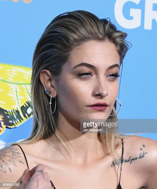 Paris Jackson attends the Los Angeles Premiere 'Gringo' at Regal LA Live Stadium 14 on March 6 2018 in Los Angeles California