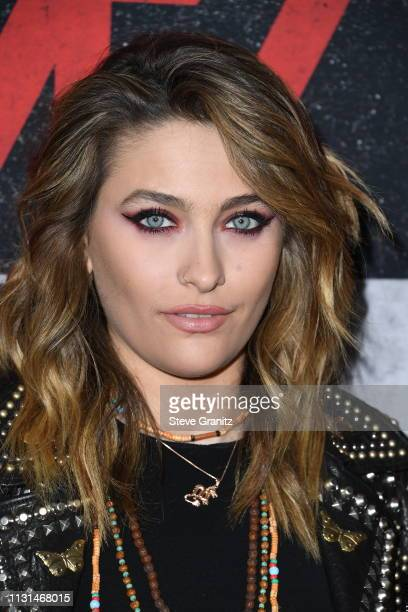 Paris Jackson attends the premiere of Netflix's The Dirt at the ArcLight Hollywood on March 18 2019 in Hollywood California