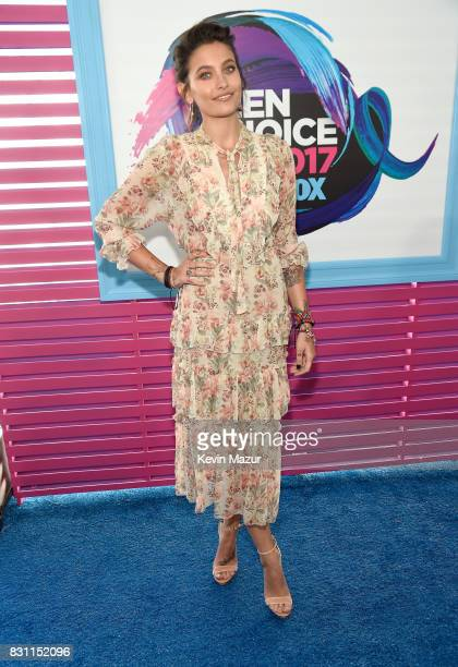 Paris Jackson attends the Teen Choice Awards 2017 at Galen Center on August 13 2017 in Los Angeles California