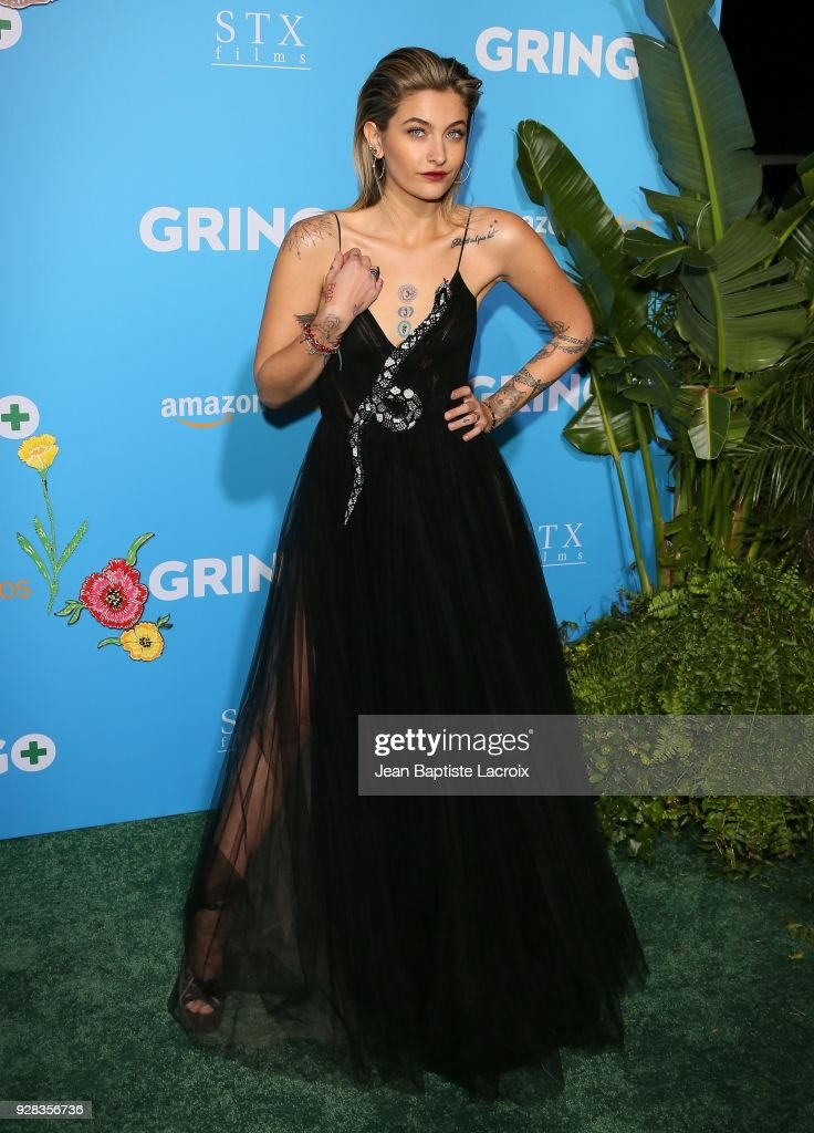 Paris Jackson attends the world premiere of 'Gringo' from Amazon Studios and STX Films at Regal LA Live Stadium 14 on March 6, 2018 in Los Angeles, California.