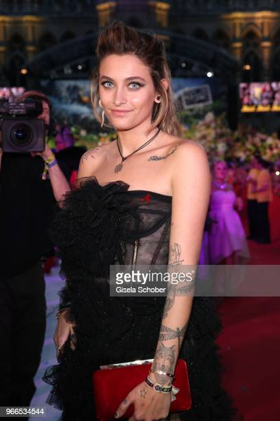 Paris Jackson daughter of Michael Jackson during the Life Ball 2018 at City Hall on June 2 2018 in Vienna Austria The Life Ball an annual charity...