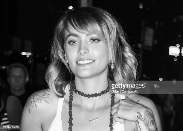 Paris Jackson is seen leaving Calvin Klein Collection fashion show during New York Fashion Week on September 7 2017 in New York City