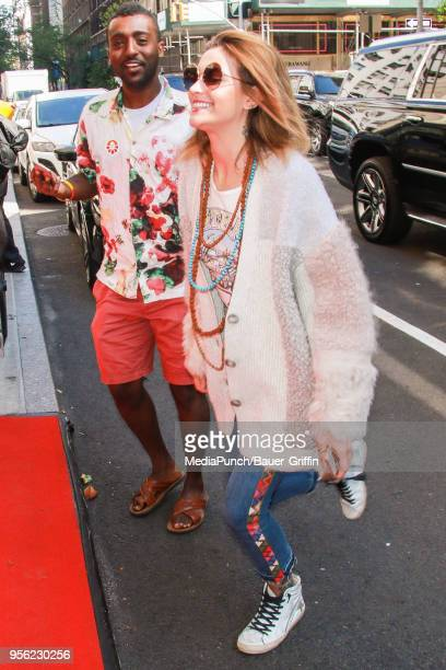 Paris Jackson is seen on May 08 2018 in New York City