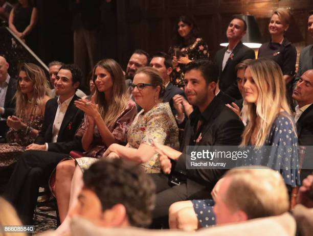 Paris Jackson Zac Posen Heidi Klum Victoria Brynner Josh Peck and Paige O'Brien attend The Elizabeth Taylor AIDS Foundation and mothers2mothers...
