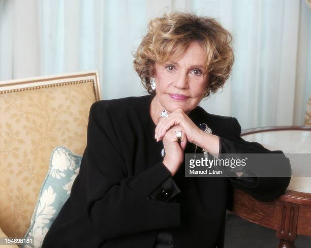 Paris, January 14 the actress Jeanne Moreau was the occasion of the release of the film 'This love the' in which she plays Marguerite Duras. Portrait...