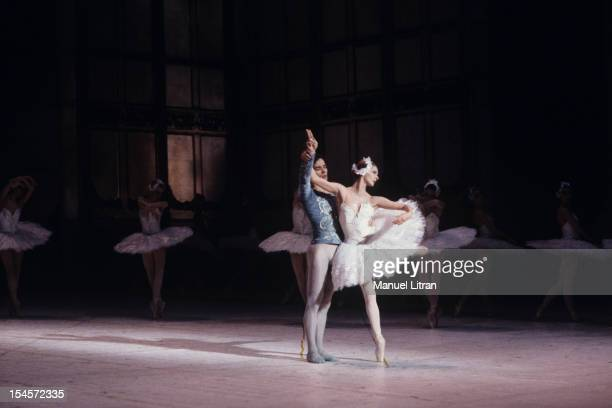 Paris January 3 Representation of the ballet 'Swan Lake' by Tchaikovsky with Rudolf Nureyev and Sylvie Guillem at the Opera de Paris