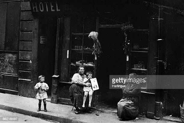 Paris Jewish store in the Rosiers street Paris about 1930