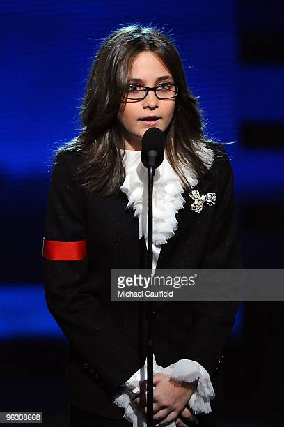 Paris Katherine Jackson onstage at the 52nd Annual GRAMMY Awards held at Staples Center on January 31 2010 in Los Angeles California