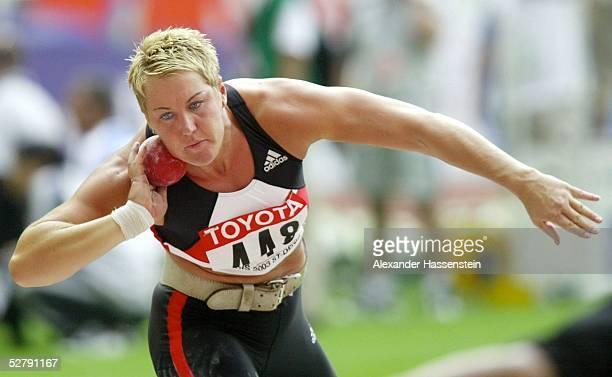 WM 2003 Paris Kugelstossen/Frauen Astrid KUMBERNUSS/GER