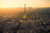 Paris Last light from Montparnasse