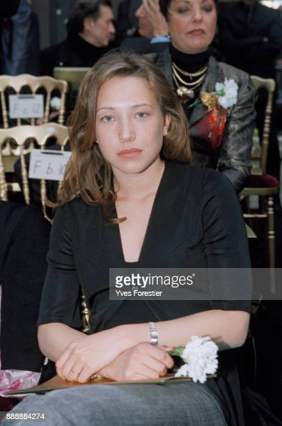 Paris Laura Smet at SpringSummer 2002 Fashion show Lacroix Collection